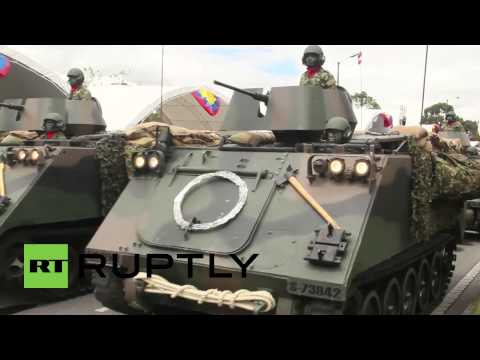 Colombia: Independence Day march greets FARC
