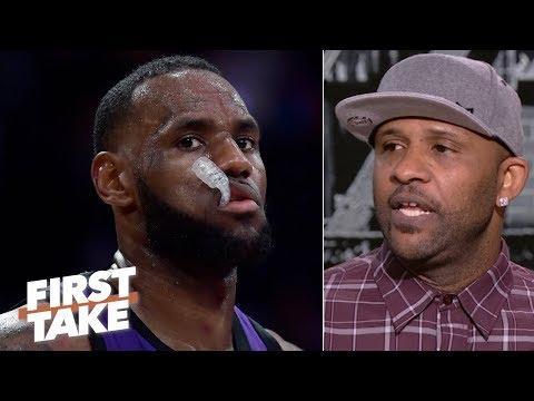 Forget building for the future, the Lakers need to win now with LeBron - CC Sabathia | First Take