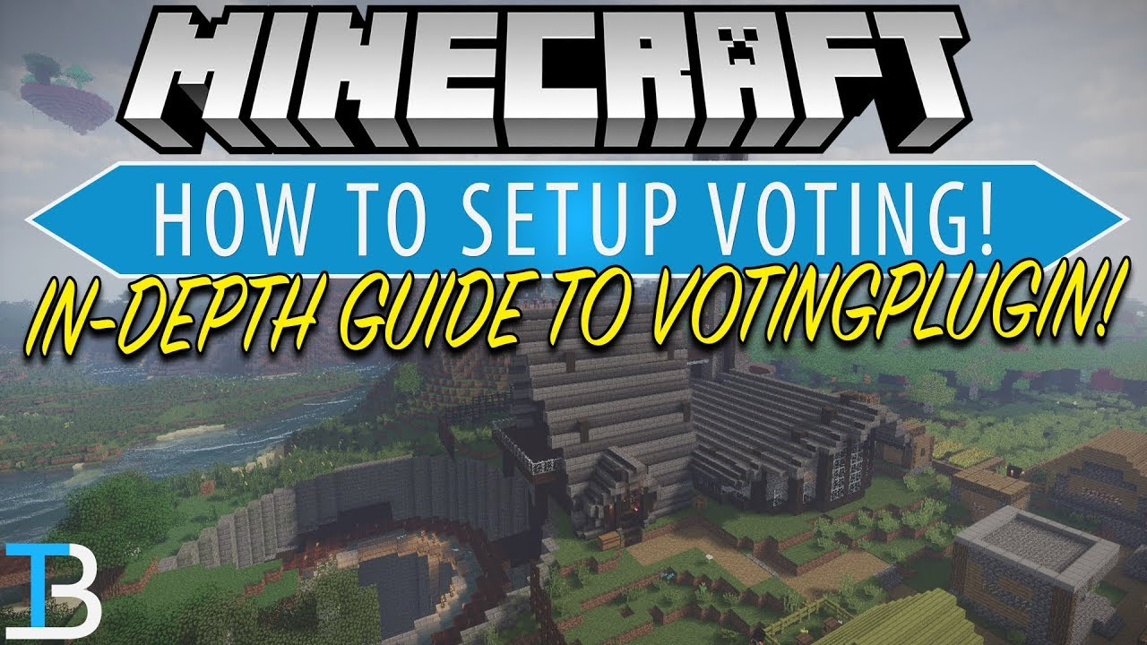 How To Setup Voting on A Minecraft Server (Complete Guide To VotingPlugin!)