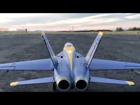 Freewing F-18 Lightburner Demo