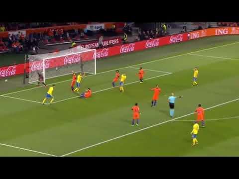 Belanda GAGAL Lolos Piala Dunia.Highlight and All Goal Belanda vs Swedia 2-0 11/10/2017 HD