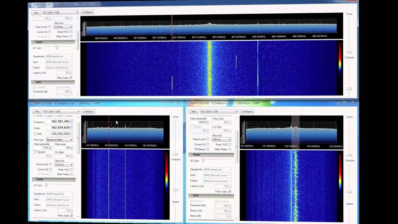 Using Multiple RTL2832U Sticks for SDR | Ham Radio Science