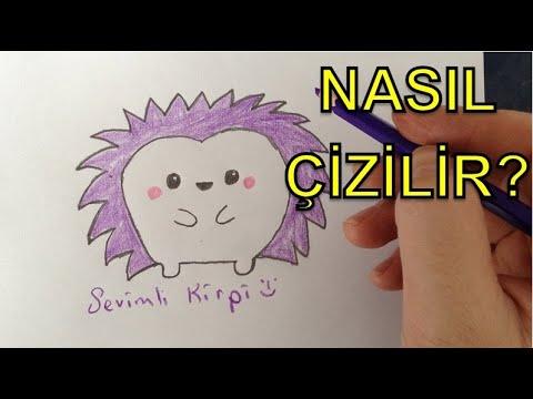 Kirpik nasıl çizilir?(kolay yöntem) How to draw eyelashes.
