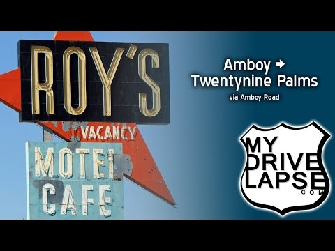 Amboy Road: from Roy's to Twentynine Palms, California