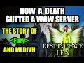 The story of a tragic loss that tore a server apart
