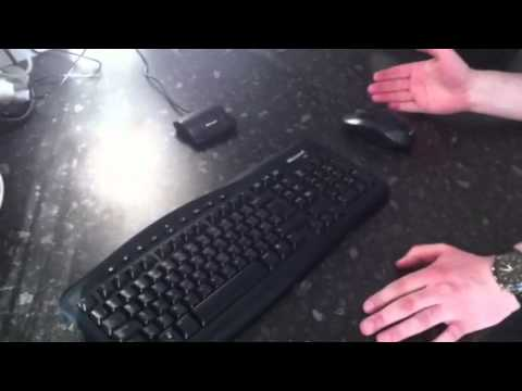 Re-syncing My Wireless Keyboard & Mouse