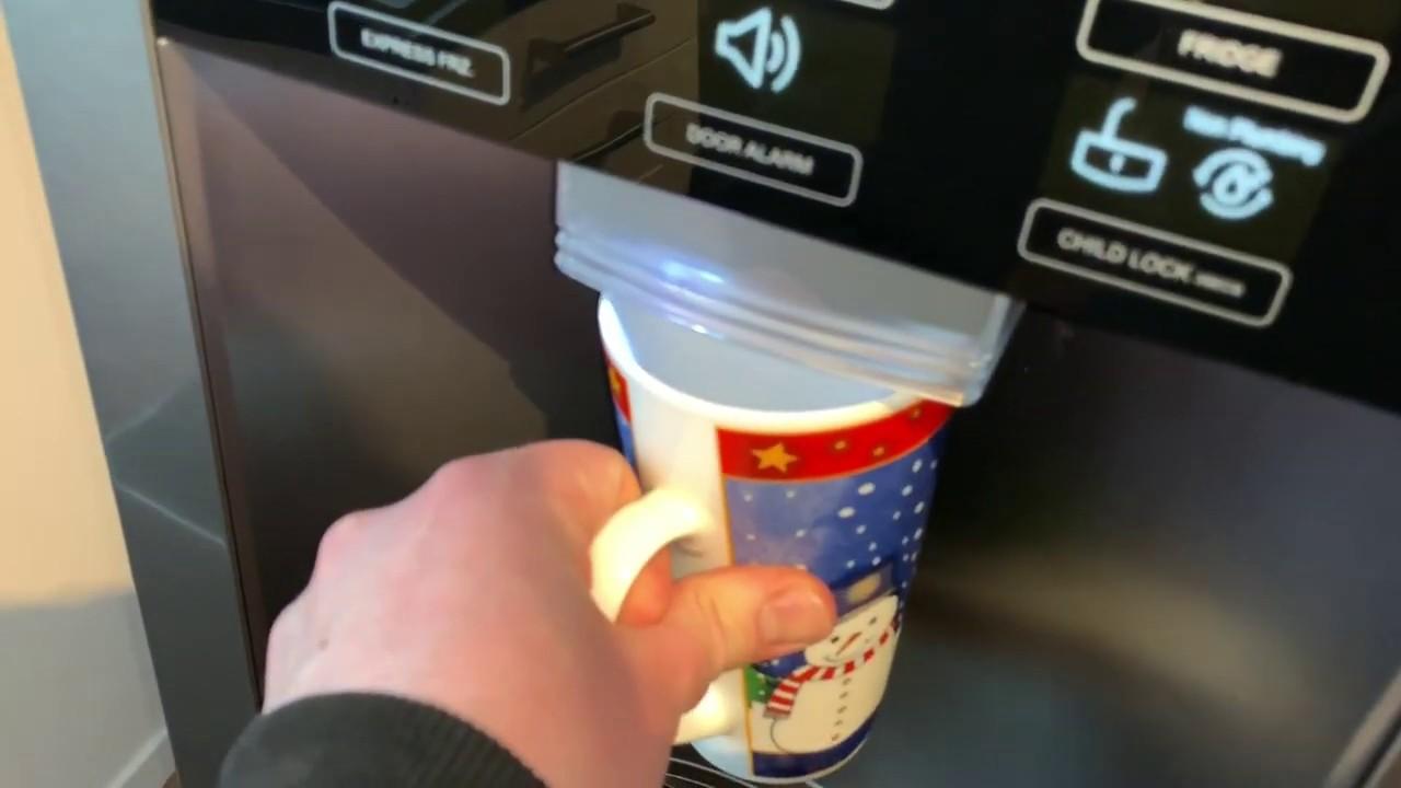 Side By Side Kühlschrank Leise : Lg gsl icez side by side kühlschrank eis crushed ice und