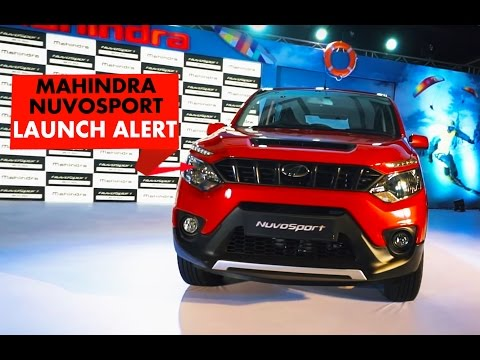 Launch Alert : Mahindra NuvoSport : PowerDrift