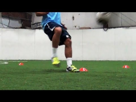 The 4 Cone Soccer Drill