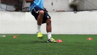 Soccer Speed and Agility | 4 Cone Drill