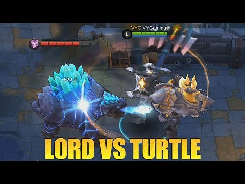 LORD VS TURTLE?!? SIAPA YANG MENANG YA?!? TIPS & TRICKS MUDAH MENANG DI MODE EVOLVE MOBILE LEGENDS