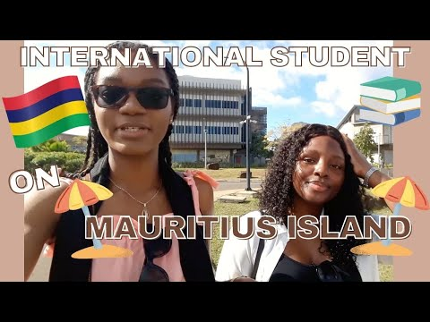 VLOG : A DAY IN THE LIFE OF AN INTERNATIONAL STUDENT IN MAURITIUS