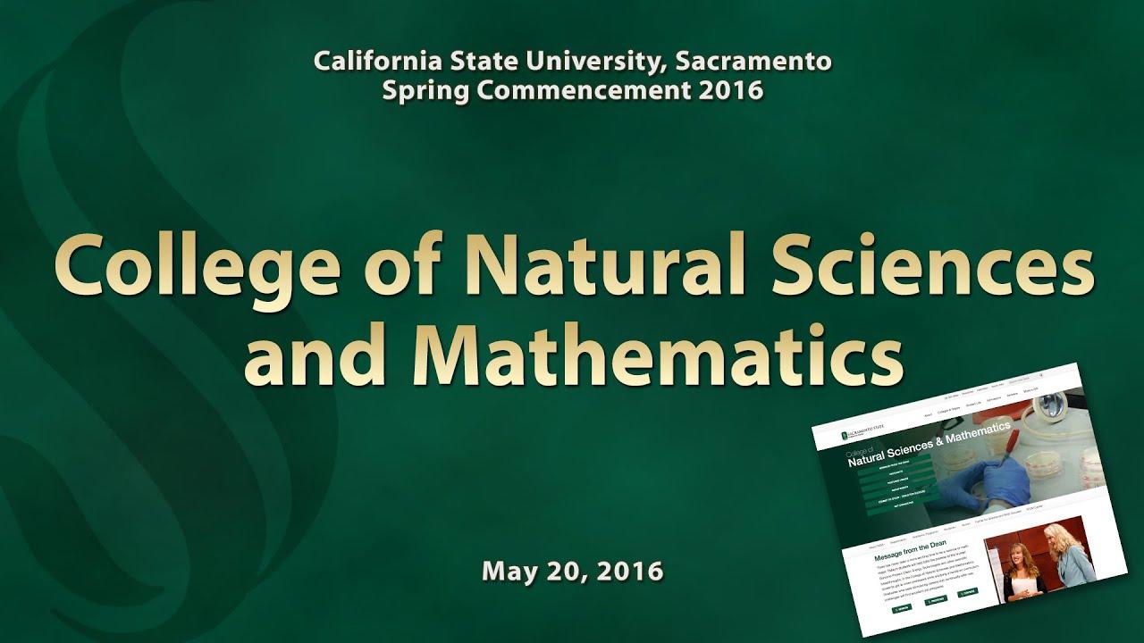 College Of Natural Sciences And Mathematics Csus