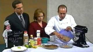 Mark Zimmer Low Carb Chef Makes Ley Lime Pie Live @ Noon-news 5