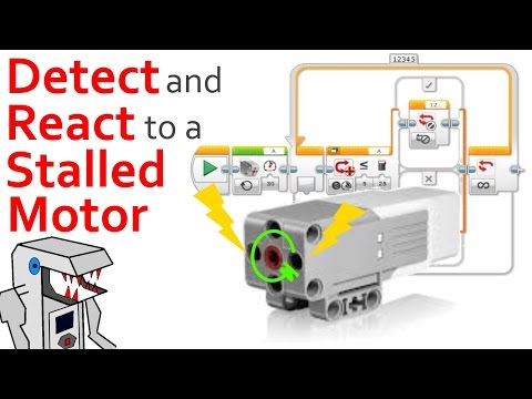 Program your EV3 Robot to Detect a Motor Stall | EV3-G