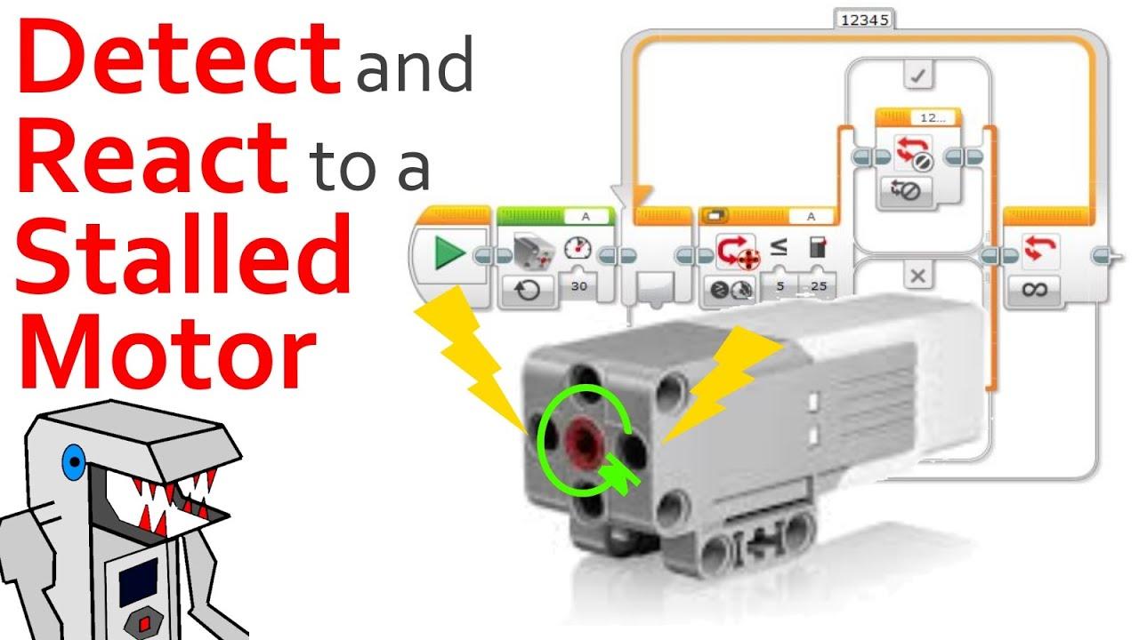 program your ev3 robot to detect a motor stall ev3 g youtube