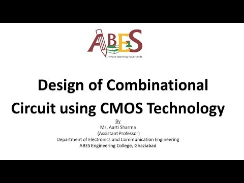 Design of Combinational Circuit using CMOS Technology by Ms. Aarti Sharma [VLSI]