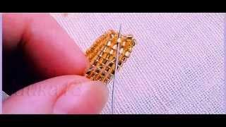 Бисероплетение Как сделать кольцо из бисера схема плетения