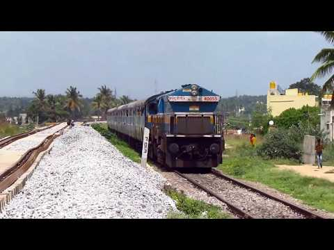 ROUTE DIVERTED TRAINS   Near EMPTY trains   Hampi and Basava   Indian Railways !!
