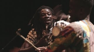 "Mark Ernestus' Ndagga Rhythm Force ""Lamb Ji"" Live"