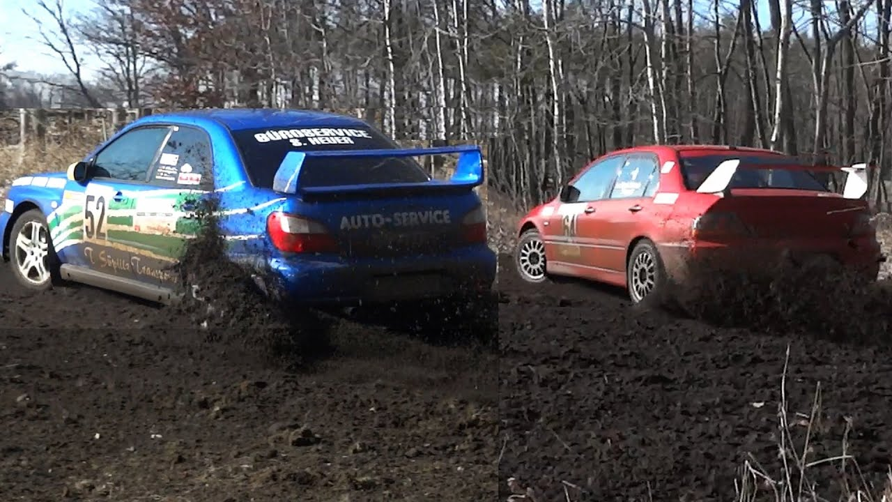 Subaru Wrx Rally Car Wallpaper Crazy Loud Sounds Lancer Evo Vs Impreza Wrx Sti Youtube
