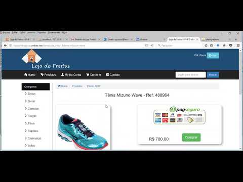 006d97790 Loja Virtual com PHP 7 - Criando E-commerce Completo - YouTube
