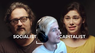 Xqc Reacts To Andquotcan Socialists And Capitalists Find Middle Groundandquot - Jubilee