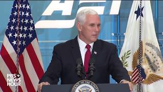 WATCH: Vice President Pence speaks on tax reform at AEI