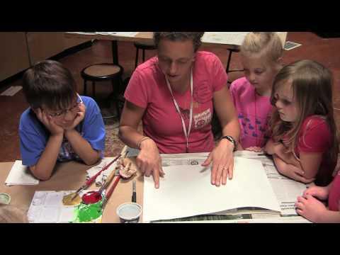 Gyotaku Fish Printing Lesson: IslandWood Teacher Professional Development In Art Education