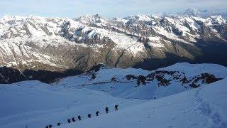 9944_ Le Grand Paradis 4061 mètres voie Normale refuge Victor Emmanuel juin 2013