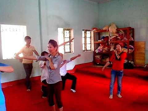VID múa nơi đảo xa trường tiểu học số 3 thái niên