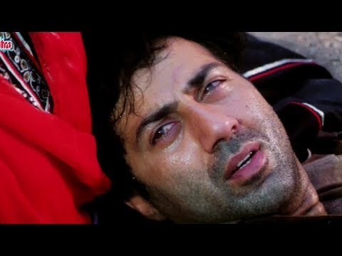 Best Action Scene of Sunny Deol - #Bollywood Action Movie | Chunky Pandey | Neelam | Kasam