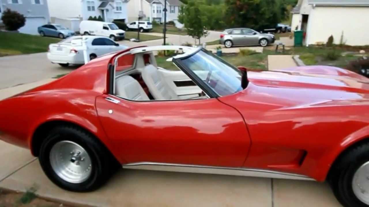 car auction 1977 chevrolet corvette 350/l82 - youtube