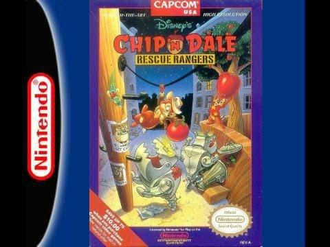 Longplay #05 Chip 'N Dale : Rescue Rangers