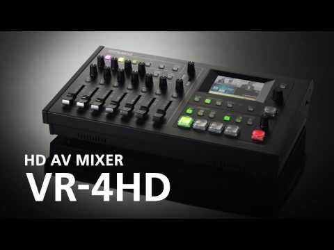 HD AV MIXER VR-4HD