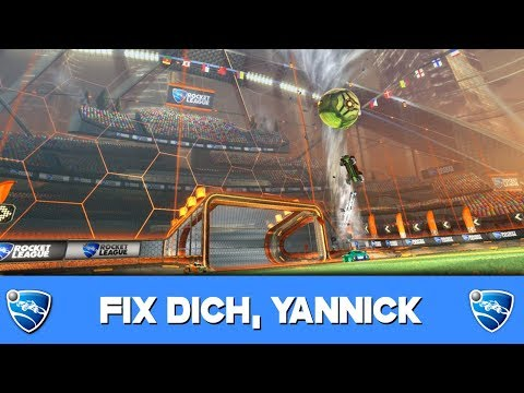FIX DICH, YANNICK!!!!11!!!! ? Rocket League German Gameplay thumbnail