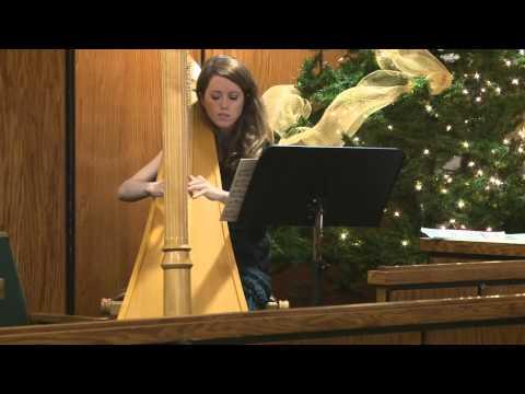Harp & Handbells at the Christmas Crèche Exhibit