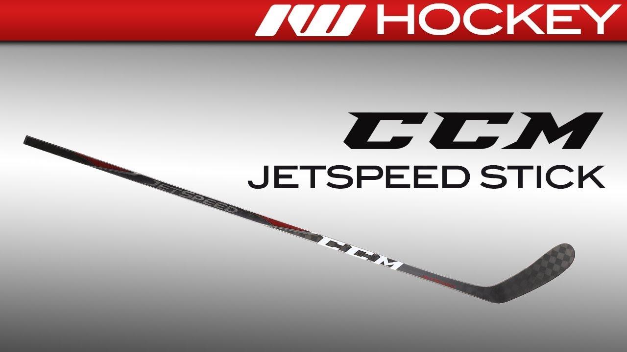 7deaaba33b6 CCM JetSpeed Stick Review - YouTube