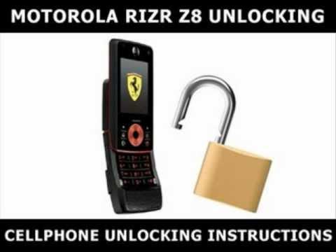 How to Unlock Any Motorola RIZR Z8 Using an Unlock Code