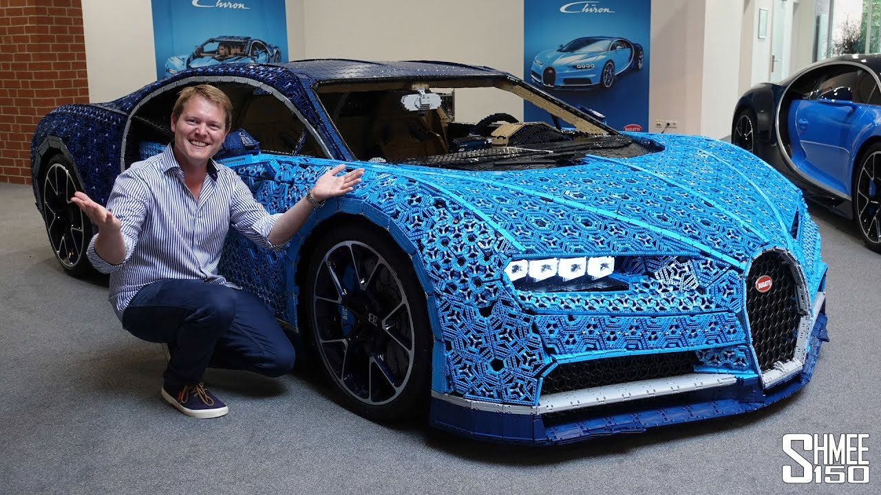 they made a bugatti chiron in full size working lego youtube. Black Bedroom Furniture Sets. Home Design Ideas