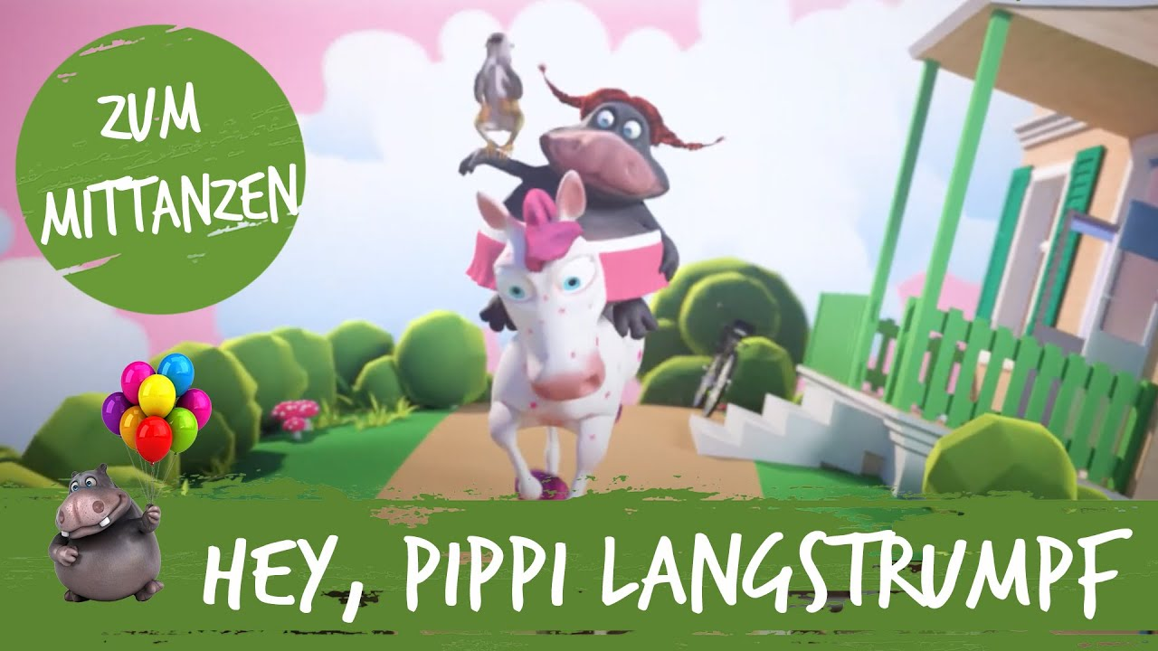 Hey, Pippi Langstrumpf - HipPo-Pop feat. Nilpferd   Kinderlieder