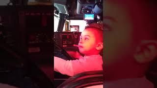 Little Boy Scared of Fire Truck Horn - 989923