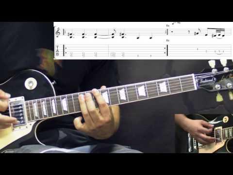 Black Sabbath - Under The Sun - Metal (Rhythm) Guitar Lesson (w/Tabs)
