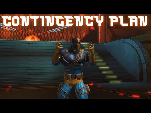 Deathstroke Explains His Contingency Plan To Defeat The Teen
