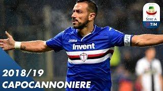 Fabio Quagliarella | Capocannoniere 2018/2019 | Serie A
