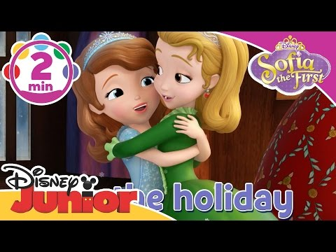 Sofia the First: Holidays in Enchancia | Sing-A-Long: Peace and Joy  | Disney Junior UK