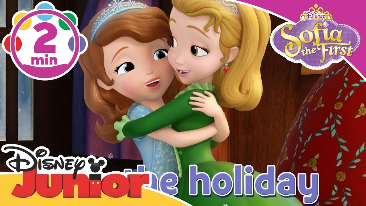 Sofia The First Holidays In Enchancia Sing A Long Peace And Joy