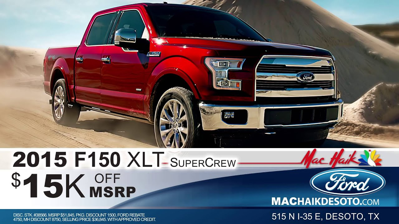 Mac Haik Ford Truck Month Is Here! - YouTube