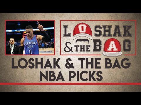 NBA Betting | Free NBA Picks for Monday | Loshak & The Bag