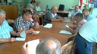 Засідання президії Бродівської районної ради